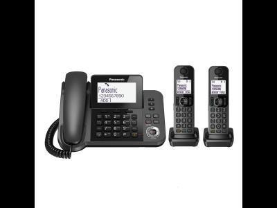 Panasonic KX-TGF۳۲۲JX Corded & Cordless Phone