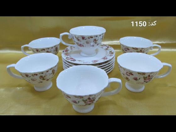 12 پارچه چائی خوری (180cc ) / کارتن : 6 دست / قیمت : 85/500 تومان