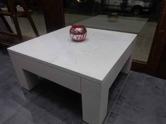 میز جلومبلی 80 در 80 و 90 در 90 با رنگهای متنوع پوششی و چوب بلوط