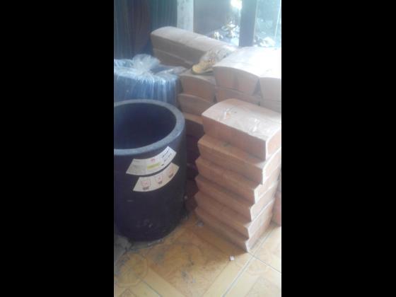فروش انواع اجر نسوز خاک نسوز وبوته در سایزهای مختلف