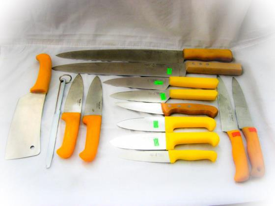 انواع چاقو قصابی و آشپزخانه