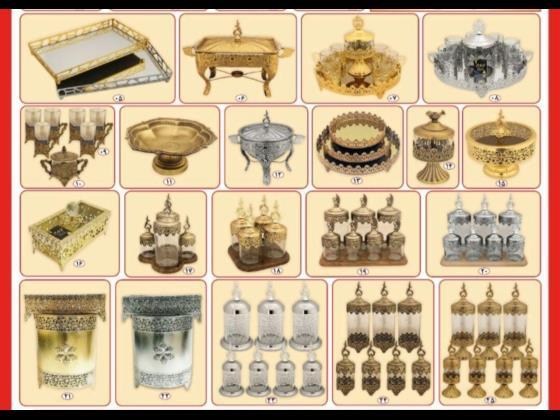 پخش عمده انواع ظروف انتیک و سرویس های پذیرایی