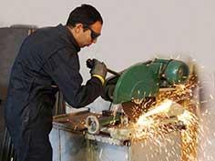 آهنگری وسازه های فلزی