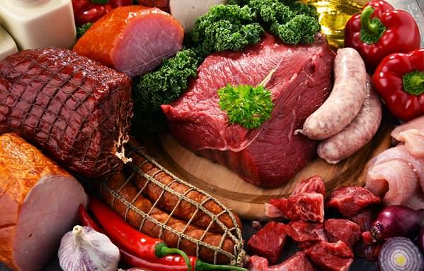 گوشت و فرآورده های پروتئینی