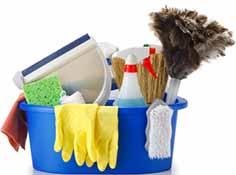 ملزومات نظافتی و تجهیزات تعمیرگاهی