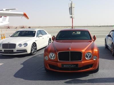 لوکس ترین شوروم بنتلی دنیا در دوبی افتتاح شد