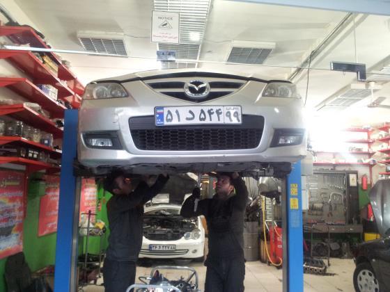 تعمیر مکانیکی انواع ماشین