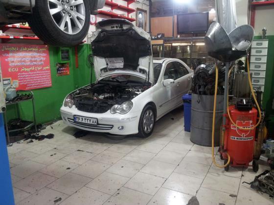 تعمیر انواع ماشین های خارجی