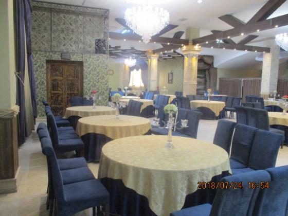 تالار پذیرایی ققنوس(ظرفیت 750 نفر)