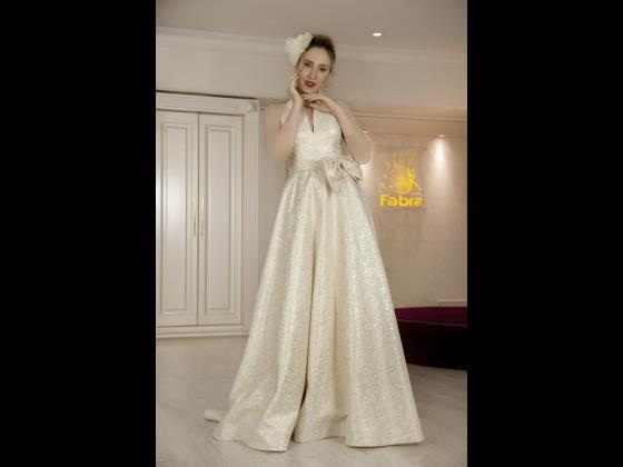 لباس نامزدی و مجلسی شیک با پارچه خاص و تن خور زیبا
