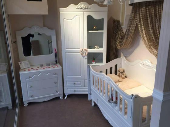 سرویس سیسمونی کودک,کمد و تخت