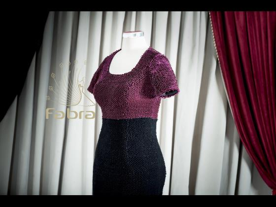 لباس کوتاه پولک مخملی