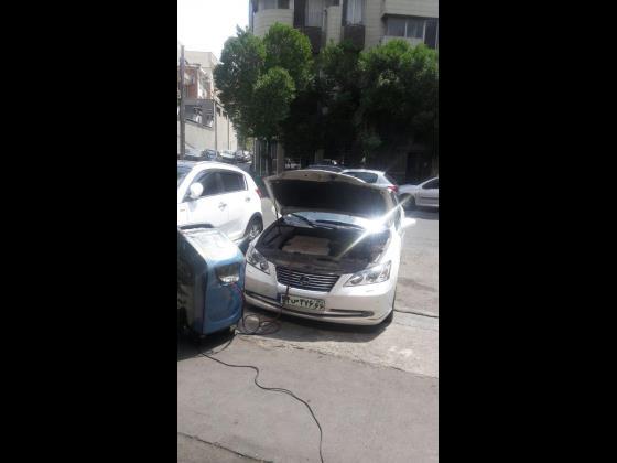 دستگاه شارژ گاز کولر تمام اتوماتیک ایتالیایی