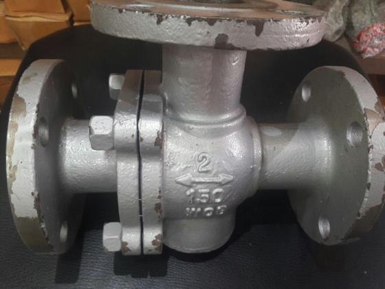 شیر توپی سراهی فولادی T تایپ A216