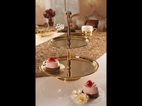 شیرینی دو طبقه آب طلا اصل ایتالیا ۴۷۶۲۰۰۰ریال