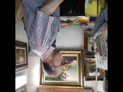 گالری نقاشی محمد علی افرازی - سفارش تابلو نقاشی - فروش - خیابان سعدی شمالی