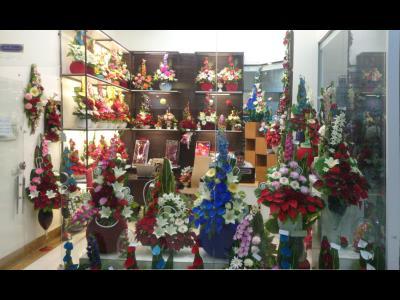 گلسرای نیازمند(ملک) - گل مصنوعی - تزئین مجالس - سرگل مرغوب ایرانی در بهارستان سپاد مشهد / حفلات تزیین - زهرة إیرانیة عالیة الجودة فی بهارستان سیباد  مشهد