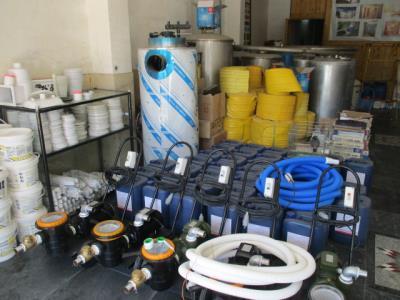 دفتر فنی موجهای آبی - ساخت استخر سونا و جکوزی بومهن - فروش کلیه لوازم و تجهیزات استخر