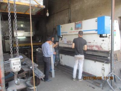 خدمات خم و برش صفایی - برشکاری آهن مکان