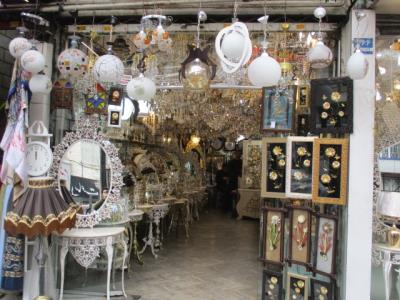عروس شهر - لوستر فروشی - امام زاده حسن