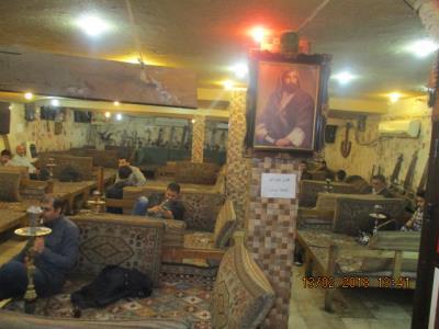قهوه خانه سادات - سفره خانه سعادت آباد - قهوه خانه ایران زمین
