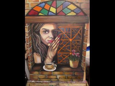 گالری مسیح آرت - masih art - آموزش طراحی و نقاشی رودهن