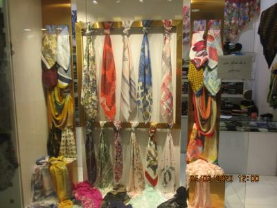 شال و روسری ابریشم