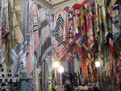تولید و پخش روسری گلچین - روسری فروشی - تولیدی روسری - بازار