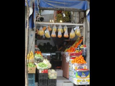 میوه فروشی عابدی - میوه - تره بار - خیابان حافظ