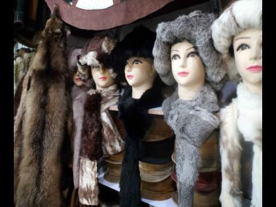فروشگاه صنایع دستی پوست و چرم عسگری