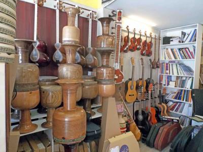 گالری موسیقی دستان