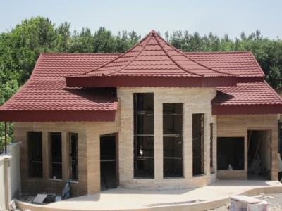 گروه صنعتی پوشش سقف صدف - سقف شیبدار - ورق گالوانیزه - رنگی - بلوار توس - مشهد