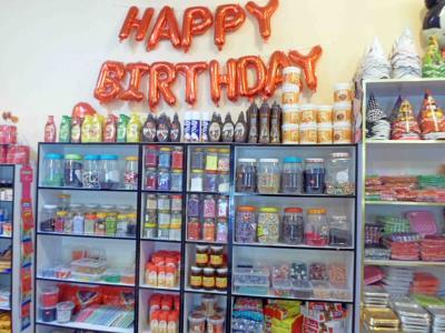 فروشگاه لوازم جشن تولد دنیای شادی - لوازم تولد در مشهد