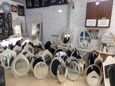 امپراطوری آینه وشمعدان و صنایع دستی امین