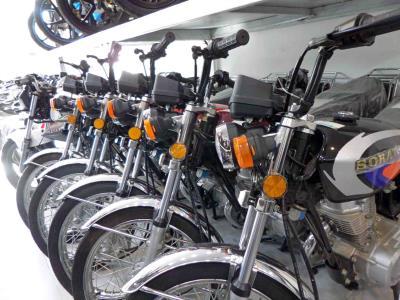 نمایشگاه موتور سیکلت رحم دل / معرض دیل للدراجات الناریة الرحم