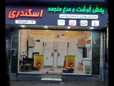 فروشگاه پروتئینی اسکندری - مرغ منجمد خیابان اسکندری - محصولات منجمد محدوده امام خمینی