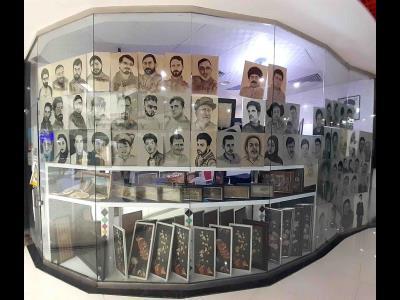گالری هنری سیاه قلم - طراحی چهره سیاه قلم در مشهد - بلوار طبرسی